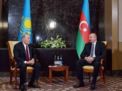 """Nazarbayevdən Bakıda mühüm təklif: """"Türkdilli"""" olmasın..."""