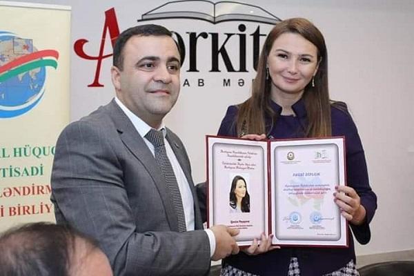 Qənirə Paşayevaya fəxri diplom verildi – Foto