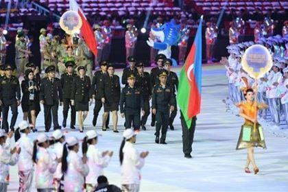 VII Dünya Oyunlarının açılış mərasimi oldu - Foto