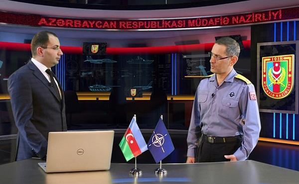 NATO kontr-admiralı MN-ə müsahibə verdi - Video