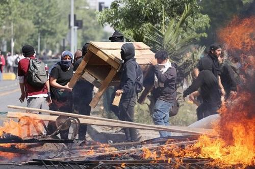 Chile's president promises measures to calm protests