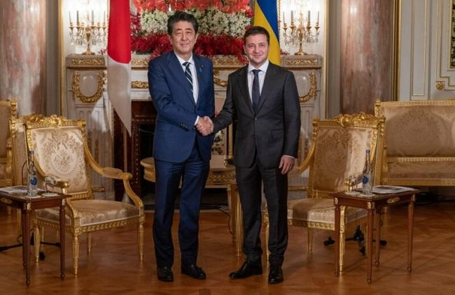 Zelensky arrives in Japan