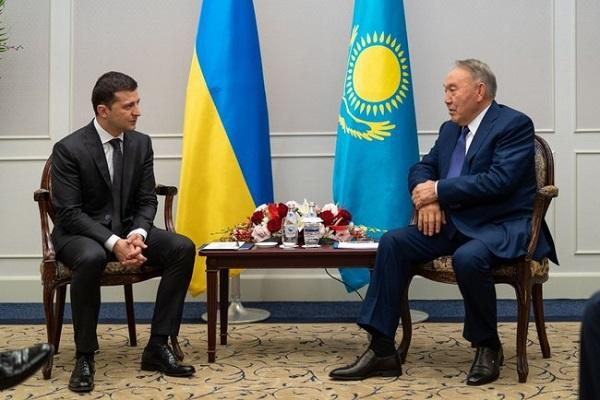 Zelenski invited Nazarbayev to Ukraine