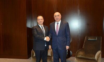 Azerbaijani, Serbian FMs meet