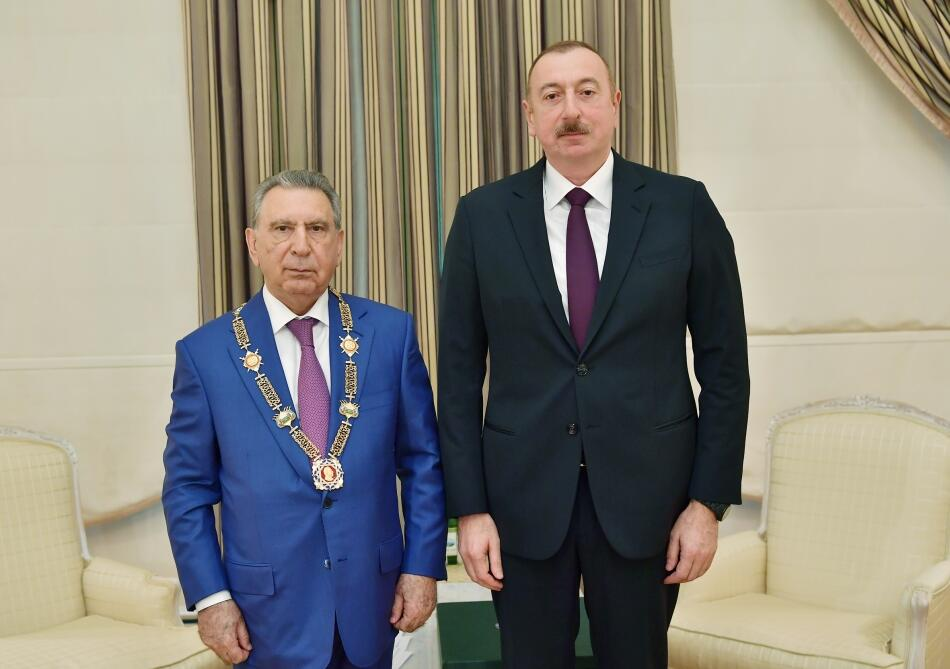 Ramiz Mehdiyev awarded the Heydar Aliyev Order