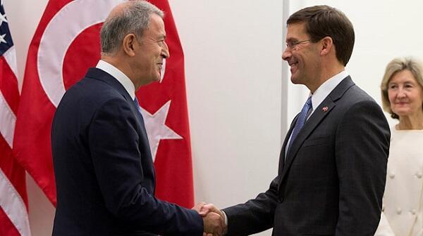 US, Turkish defense chiefs discuss Idlib, Syria