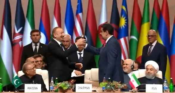 Maduro elan etdi: İlham Əliyev sədr seçildi - Canlı