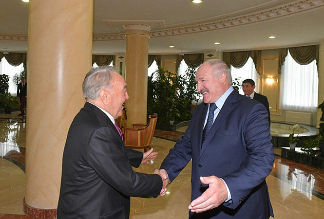 Lukashenko invited Nazarbayev to Minsk