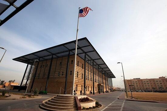 В Багдаде отражена ракетная атака на посольство США