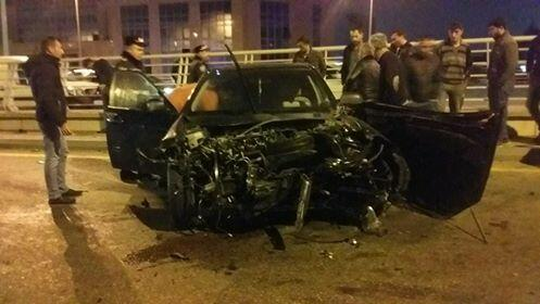 Тяжелое ДТП в Баку, есть жертвы