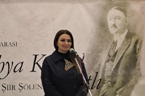 Paşayeva Şimali Makedoniyada Qarabağdan danışdı - Foto