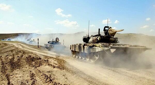 Ordumuz yeni silahları sınaqdan keçirir - Video