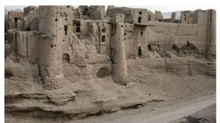 قلعه شهر باستانی اولتان پارسآباد مغان به پایگاه ملی تبدیل میشود