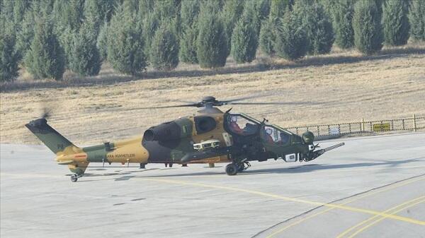 В Турции испытали отечественный ударный вертолет - Видео
