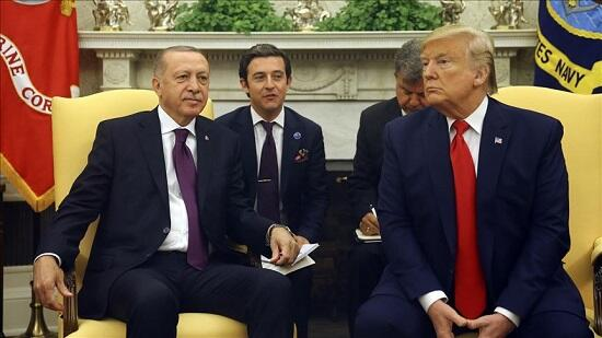 Trump said he admired Erdogan