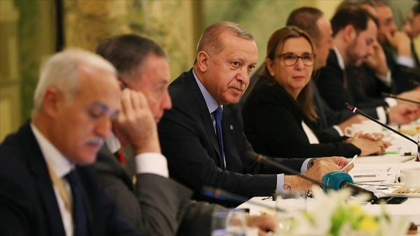 Эрдоган принял участие в круглом столе в Вашингтоне