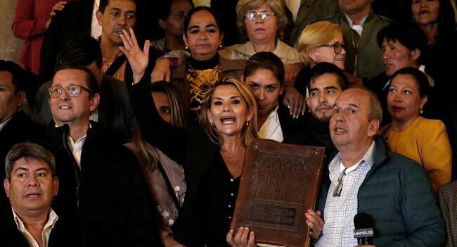 ВС Боливии признали сенатора Аньес и.о. президента
