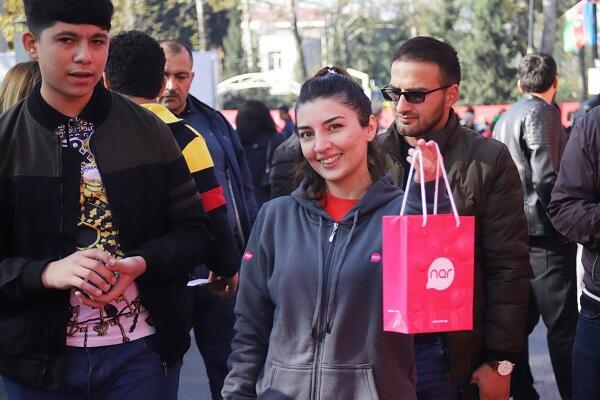 """""""Nar"""" Göyçaydakı festivalı abunəçiləri ilə qeyd etdi"""