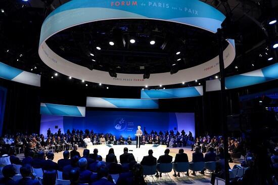 Второй Парижский форум мира завершил работу