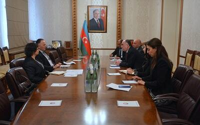 Azerbaijani FM receives Israeli ambassador