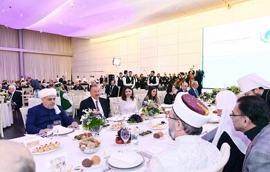 President made a dinner in honor of religious leaders -