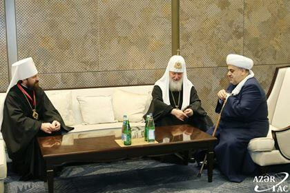 Allahshukur Pashazade met with Cyril