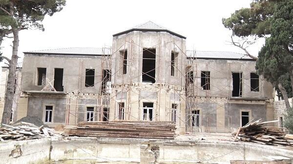 Heydər Əliyev Fondu Tağıyevin evini təmir etdirir