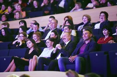İlham Əliyev Qalkinin yaradıcılıq gecəsində - Foto