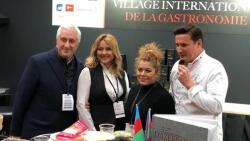 Azerbaijani kitchen is on display in Paris -