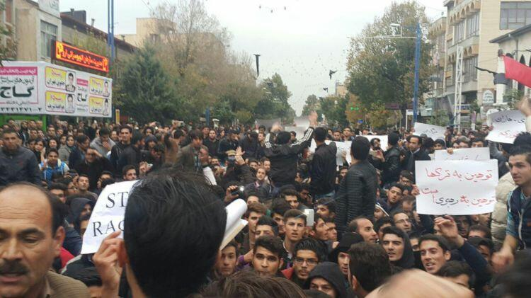 Southern protestors: Khomeini's ring was burned -