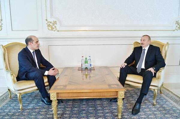 Президент принял посла Иордании