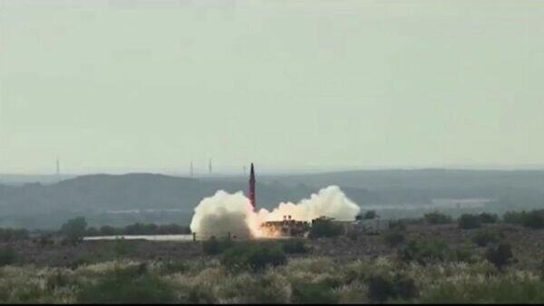 Pakistan tests nuclear-capable Shaheen-III missile