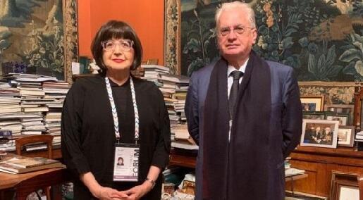 Nazir müavini Piotrovski ilə görüşdü - Foto