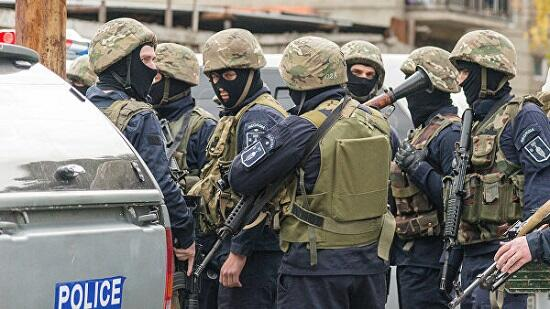 В Тбилиси спецназ начал разгонять акцию протеста