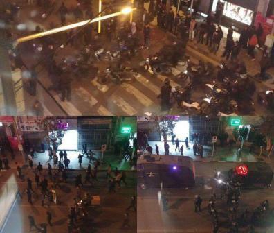 شلیک به معترضان از سوی هلیکوپتر حامل امام جمعه شهر صدرا
