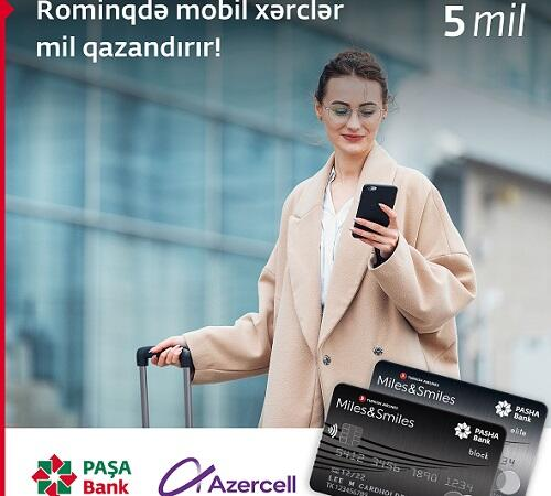 Earn miles with Azercell Roaming