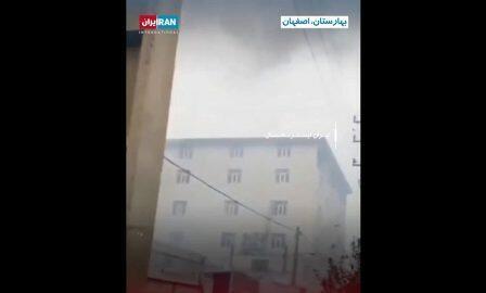 اصفهاندا پولیس ایدارهسینین بیناسی یاندیریلدی – ویدئو