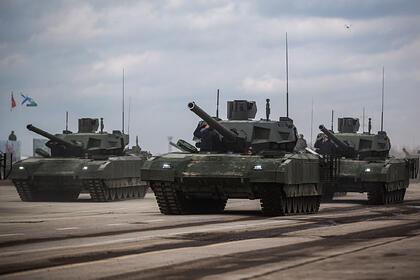 Россия впервые получит Т-14 «Армата»