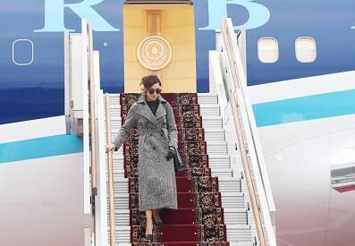Mehriban Əliyeva Rusiyada... - Foto
