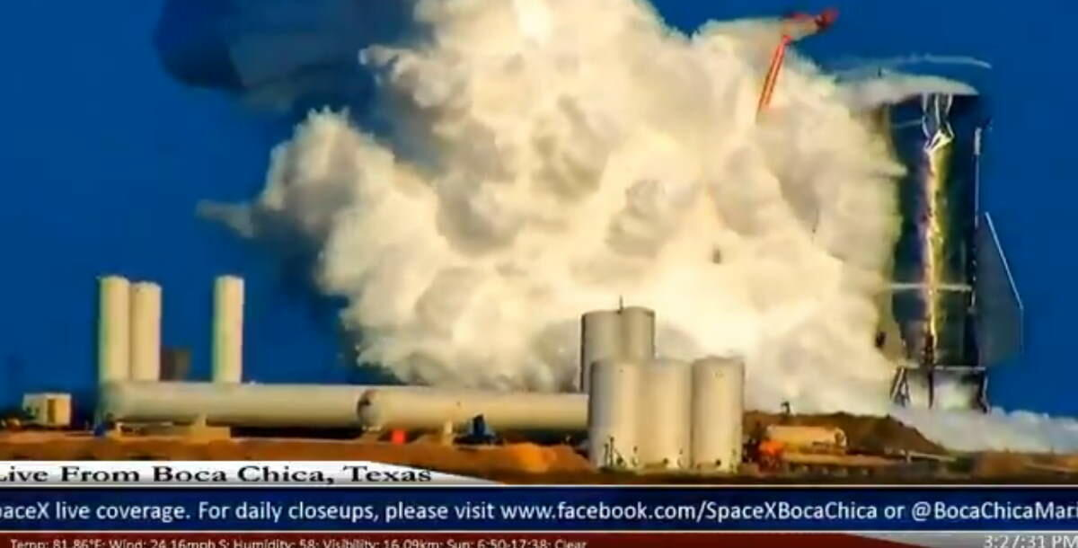 Space X rocket exploded -