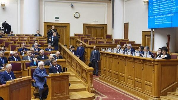 Əsədov Rusiyada 50-ci yubiley sessiyasında - Foto