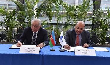 Azərbaycan EBRD-yə qoşulur - Müqavilə imzalandı
