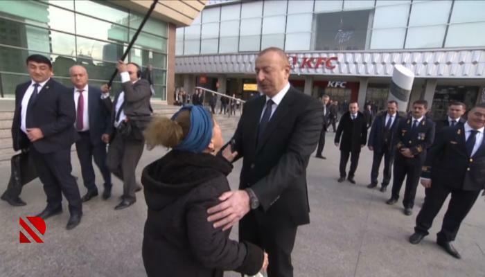 Prezidentə müraciət etdi, bank borcu silindi - Video