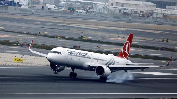 Турция прекратила авиасообщение
