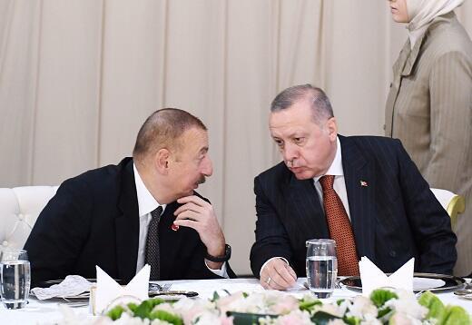 Ilham Aliyev called Erdogan