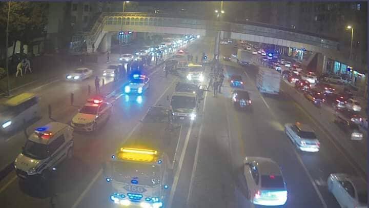 DYP Bakıda dəhşətli qəzaların görüntülərini yaydı - Video