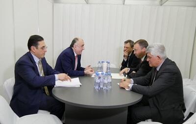 Azerbaijan`s FM meets with Toivo Klaar