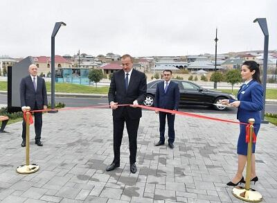 Ilham Aliyev attends opening of ASAN Hayat complex -