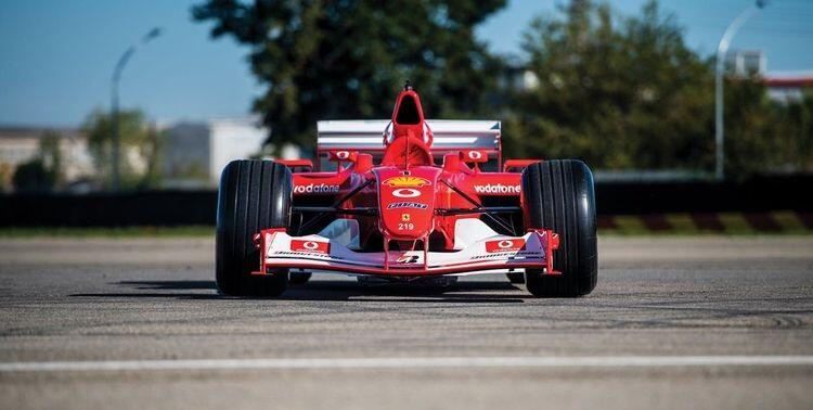 Schumacher's Ferrari sold for 6.6 million -