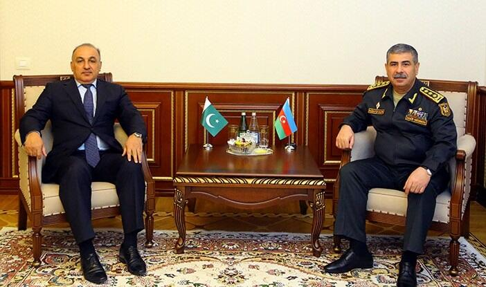 Zakir Hasanov met with Ambassador of Pakistan